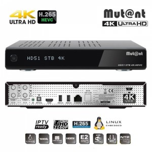 Mut@nt HD51 4K - Ultra HD Linux приемник